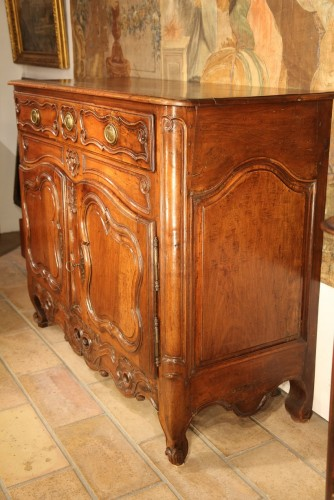 Furniture  - Late 18th C Marriage buffet (sideboard) from the Languedoc. In walnut wood.