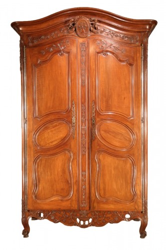 "Middle of 18thC  marriage ""armoire"" (wardrobe) From Provence"