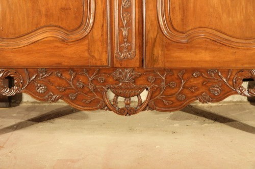 "Middle of 18thC  marriage ""armoire"" (wardrobe) From Provence - Furniture Style"