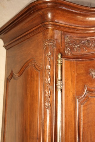 "18th century - Middle of 18thC  marriage ""armoire"" (wardrobe) From Provence"