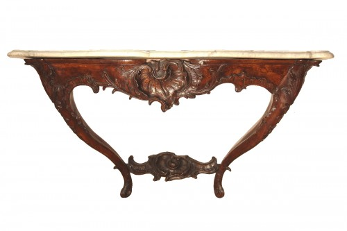 Frenc provencal Louis XV important console