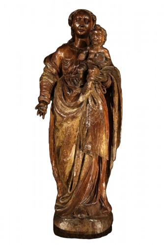 Late 16th C- early 17th C Virgin and Child. Northern Italy School ?