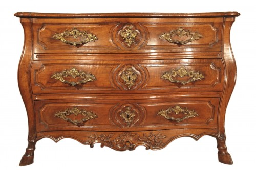 "18thC Louis XV ""Commode tombeau"", from Provence."