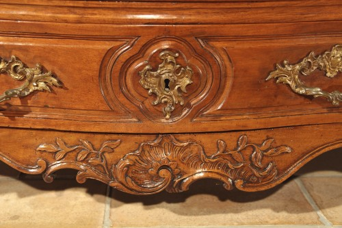 "Furniture  - 18thC Louis XV ""Commode tombeau"", from Provence."