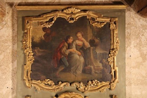 18th C Regency pier glass. - Mirrors, Trumeau Style French Regence