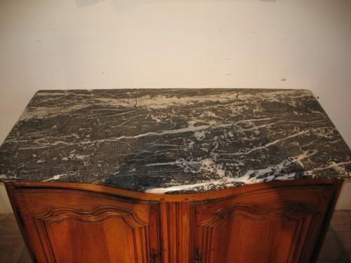 Furniture  - 18thC Louis XV hunter buffet (dresser). From Ile-de-France.