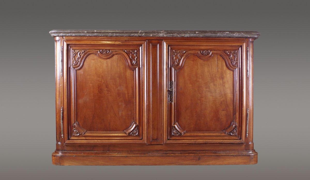 Buffet de chasse lyonnais d but xviiie si cle for Decoration 18eme siecle