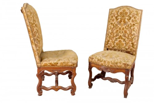 "Louis XIV chairs ""os de mouton"""