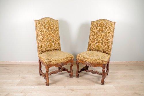 """Louis XIV chairs """"os de mouton"""" - Seating Style Louis XIV"""