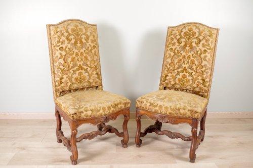 """Seating  - Louis XIV chairs """"os de mouton"""""""