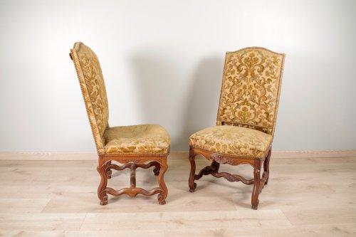 """Louis XIV chairs """"os de mouton"""" -"""
