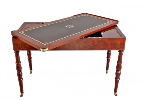 Table tric-trac d'époque Restauration