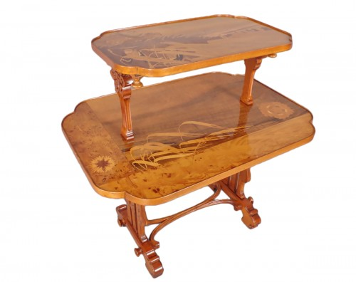 Table à thé - Émile GALLÉ (1846-1904)