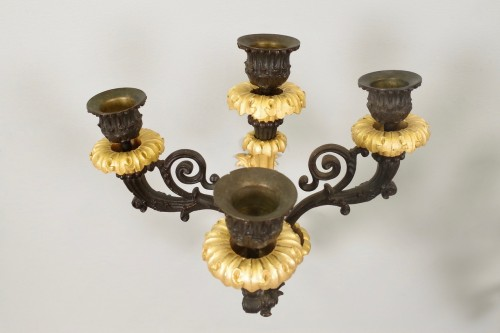 Charles X period wall lights -