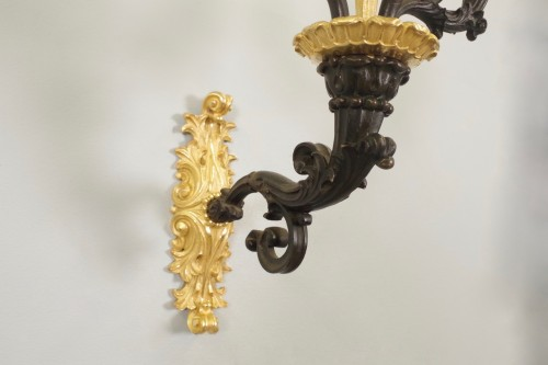 19th century - Charles X period wall lights