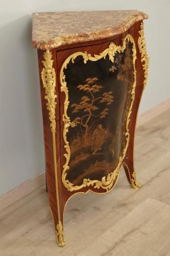 Furniture  - 19th century Corner cabinet stamped Millet