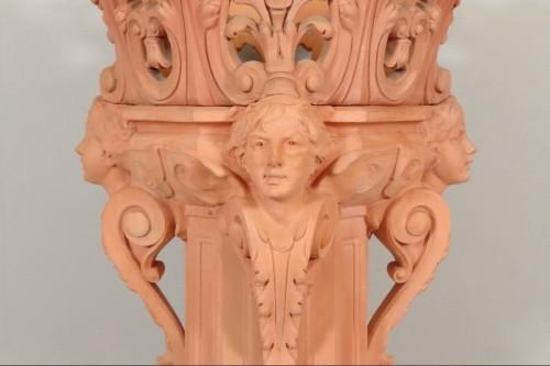Column and its planter, Napoleon III - Napoléon III