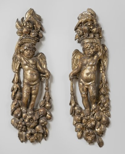 Pair of cherubs, Italy 18th century