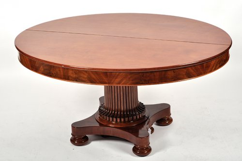 A mahogany table, Charles X period