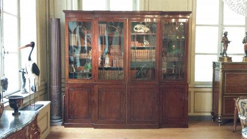 biblioth que vitrine xixe si cle antiquit s et objets d 39 art d 39 poque 19 me anticstore. Black Bedroom Furniture Sets. Home Design Ideas