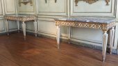 Pair of Louis XVI console, Italy