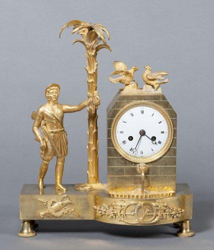 "Mantel clock ""au chasseur"" circa 1830"