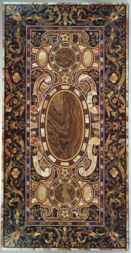 An italian table top in pietra dura