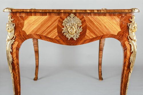 A Louis XV style Bureau Plat -