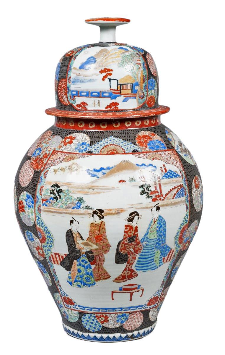 Japanese Porcelain Vase Edo Period Ref 51060