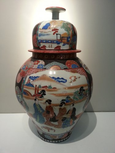 Japanese porcelain Vase - Edo period - Asian Art & Antiques Style