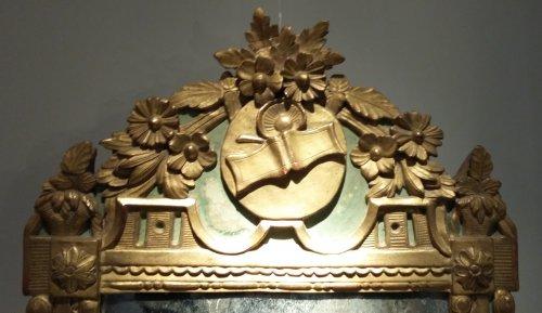 A Louis XVI Mirror - Mirrors, Trumeau Style Louis XVI