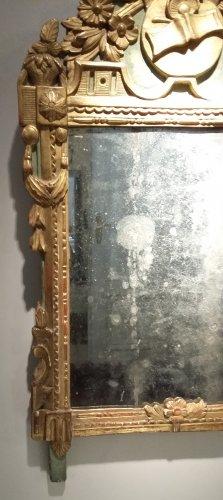 Mirrors, Trumeau  - A Louis XVI Mirror