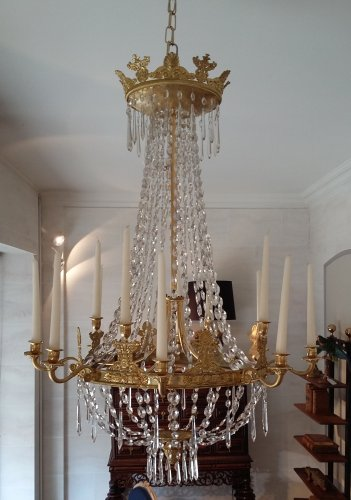 Lustre d'époque Louis-Phillipe