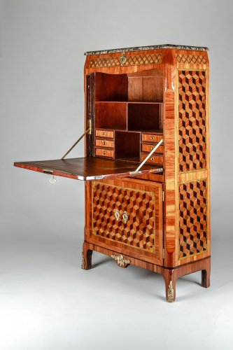 Furniture  - French secretaire of Transition period