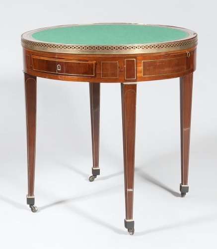 Furniture  - A Louis XVI mahogany table bouillotte