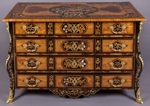 Antiquités - French Louis XIV commode « au Jasmin » attributed to Thomas HACHE