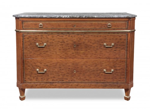Elegant French Louis XVI commode, stamped Georges Jacob
