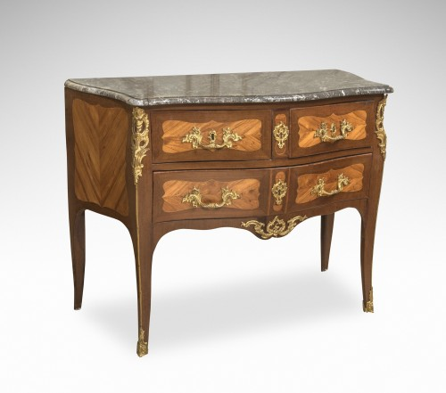 "Commode d'époque Louis XV estampillée ""Lardin"" - Mobilier Style Louis XV"