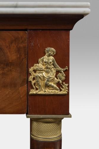 Furniture  - Empire mahogany console