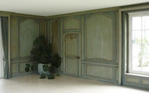 Louis XV boiserie panted and gilded wooden panels - Architectural & Garden Style Louis XV