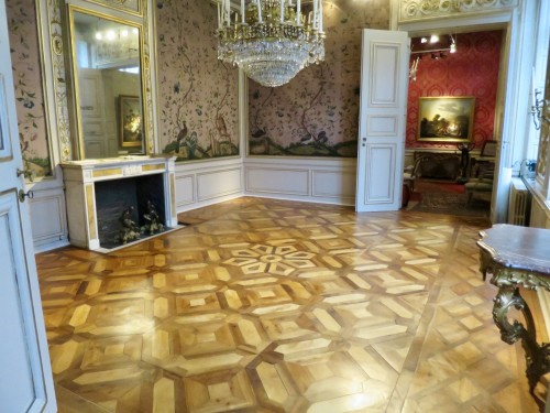 Directoire wooden floor late 18th - early 19th century - Architectural & Garden Style Directoire
