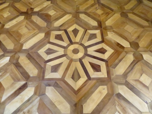 Architectural & Garden  - Directoire wooden floor late 18th - early 19th century