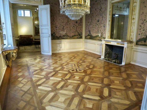 Directoire wooden floor late 18th - early 19th century -