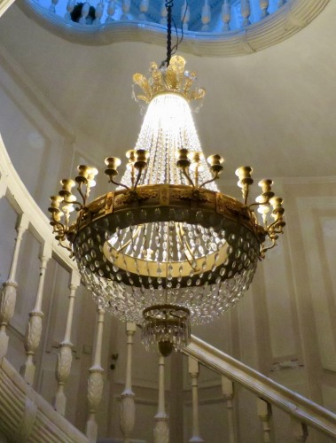 Lighting  - Charles X chandelier with thirty-six lights