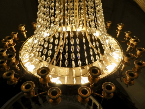 Charles X chandelier with thirty-six lights - Restauration - Charles X