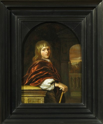 Carel DE MOOR (Leiden 1656 - Warmond 1738) - Portrait of a young man