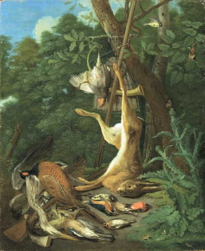 Adriaen de GRYEF (1670 - 1715) - The hunter's trophy