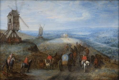 Joseph VAN BREDAEL  (1688 - 1739) - Landscape