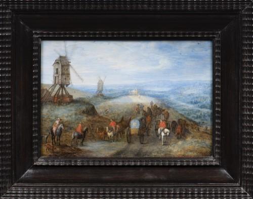 Joseph VAN BREDAEL  (1688 - 1739) - Landscape - Paintings & Drawings Style