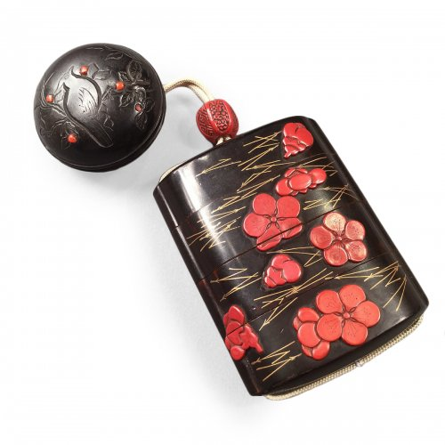Japan, Lacquer Inro from the Meiji Period
